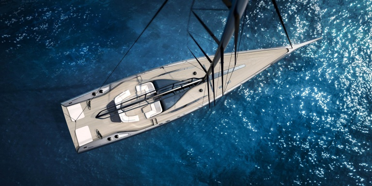 Wally unveils new 101-foot high performance sailing sloop